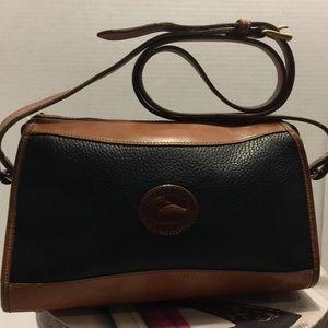 Vintage Dooney & Bourke Petina Leather Crossbody